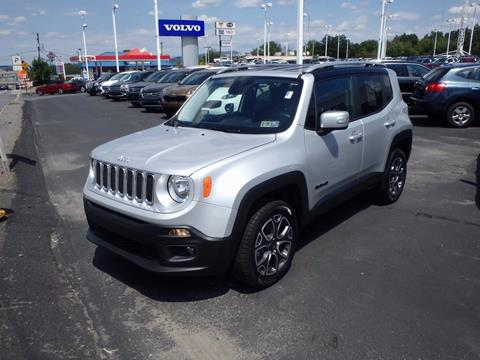 2017 Jeep Renegade for sale in Pittston, PA