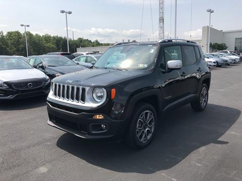 2017 Jeep Renegade for sale in Pittston PA