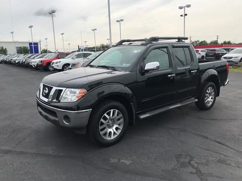2012 Nissan Frontier for sale in Pittston, PA