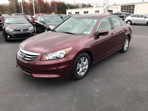 2011 Honda Accord for sale in Pittston, PA