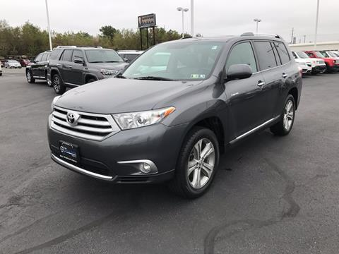 2012 Toyota Highlander for sale in Pittston PA