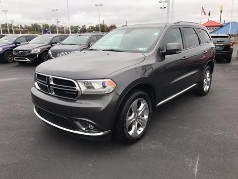 2014 Dodge Durango for sale in Pittston PA