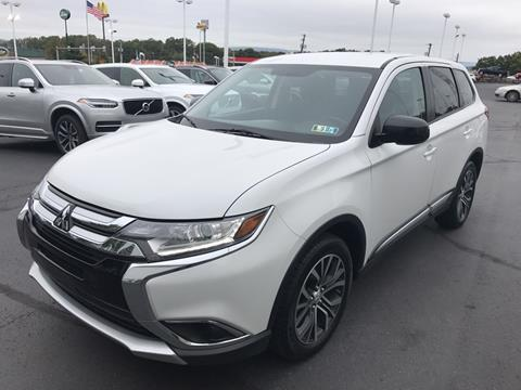 2017 Mitsubishi Outlander for sale in Pittston PA