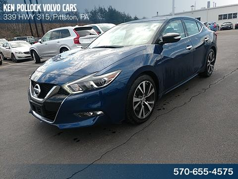 2018 Nissan Maxima for sale in Pittston, PA