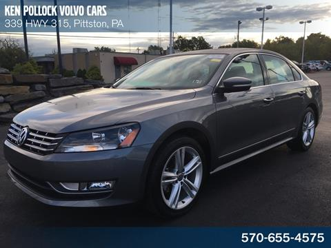 2014 Volkswagen Passat for sale in Pittston, PA