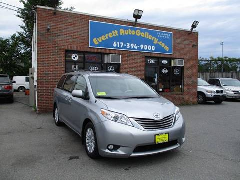 2014 Toyota Sienna for sale in Everett, MA