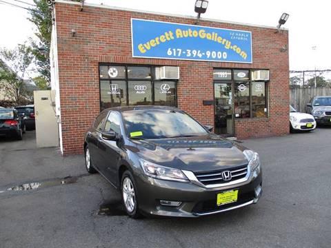 2013 Honda Accord for sale in Everett, MA