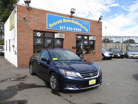 2015 Honda Accord for sale in Everett, MA