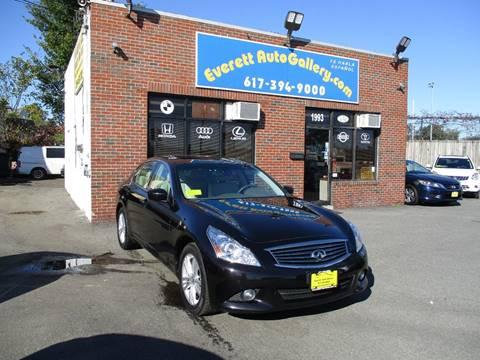 2013 Infiniti G37 Sedan for sale in Everett, MA