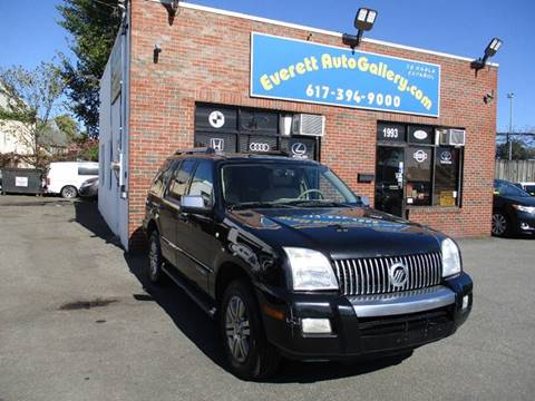 2008 Mercury Mountaineer for sale in Everett, MA
