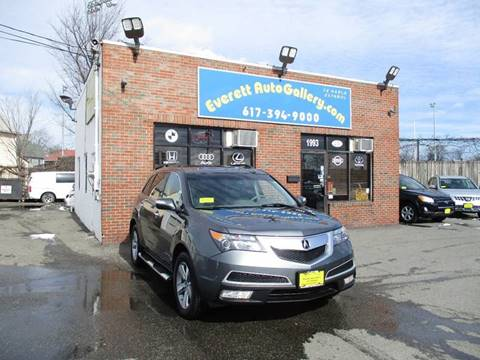 Acura Used Cars Financing For Sale Everett Everett Auto Gallery - Acura special financing