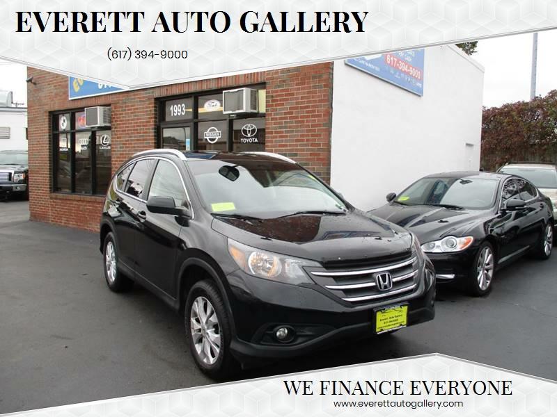 2013 Honda CR V For Sale At Everett Auto Gallery In Everett MA