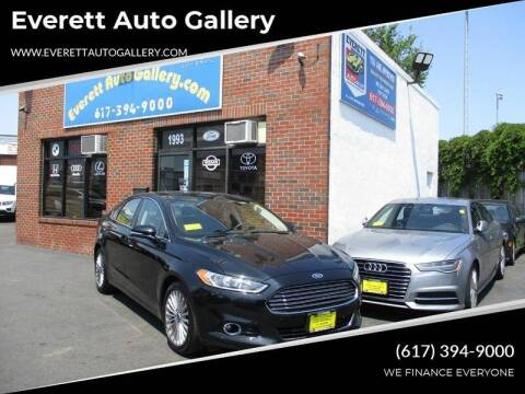 2016 Ford Fusion for sale at Everett Auto Gallery in Everett MA