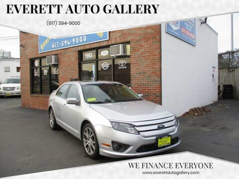 2012 Ford Fusion for sale at Everett Auto Gallery in Everett MA