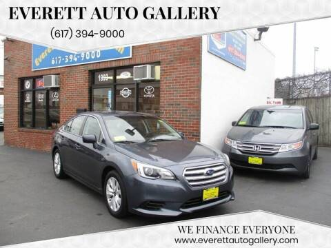 2016 Subaru Legacy for sale at Everett Auto Gallery in Everett MA