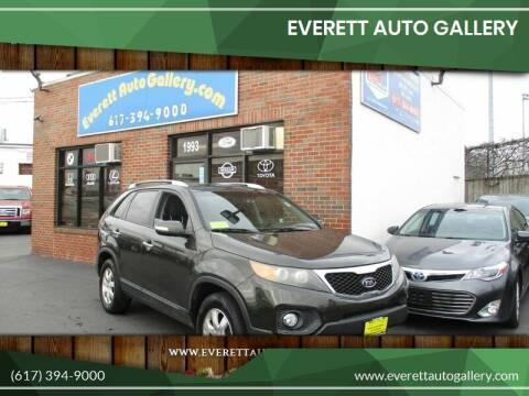 2011 Kia Sorento for sale at Everett Auto Gallery in Everett MA