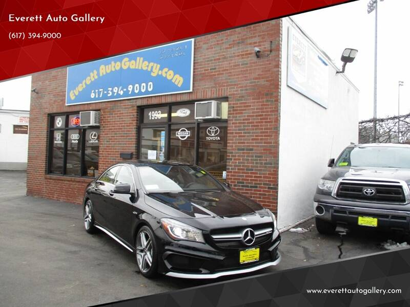 2015 Mercedes-Benz CLA for sale at Everett Auto Gallery in Everett MA