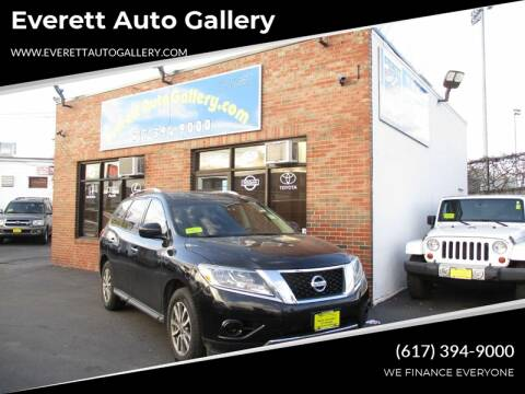 2014 Nissan Pathfinder for sale at Everett Auto Gallery in Everett MA
