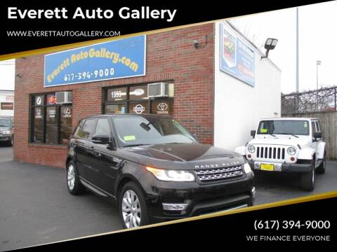 2014 Land Rover Range Rover Sport for sale at Everett Auto Gallery in Everett MA