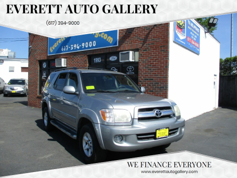 2006 Toyota Sequoia for sale at Everett Auto Gallery in Everett MA