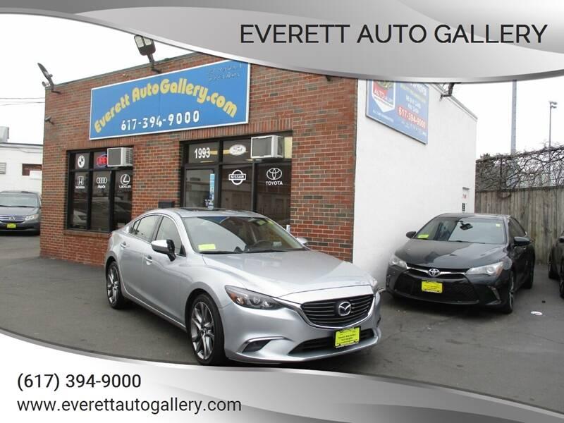2016 Mazda MAZDA6 for sale at Everett Auto Gallery in Everett MA