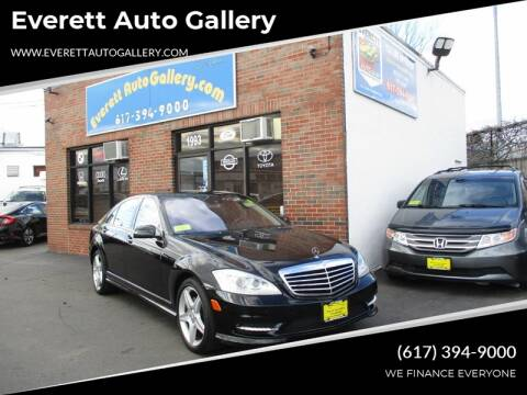 2011 Mercedes-Benz S-Class for sale at Everett Auto Gallery in Everett MA