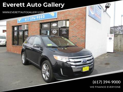 2013 Ford Edge for sale at Everett Auto Gallery in Everett MA