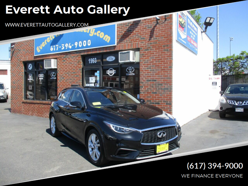 2018 Infiniti QX30 for sale at Everett Auto Gallery in Everett MA