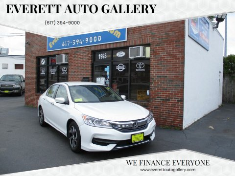 2017 Honda Accord for sale at Everett Auto Gallery in Everett MA