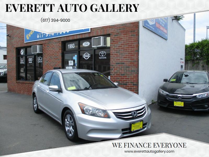 2012 Honda Accord for sale at Everett Auto Gallery in Everett MA