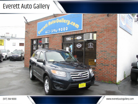 2012 Hyundai Santa Fe for sale at Everett Auto Gallery in Everett MA