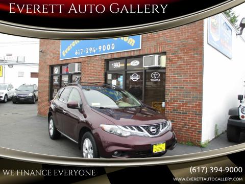 2013 Nissan Murano for sale at Everett Auto Gallery in Everett MA