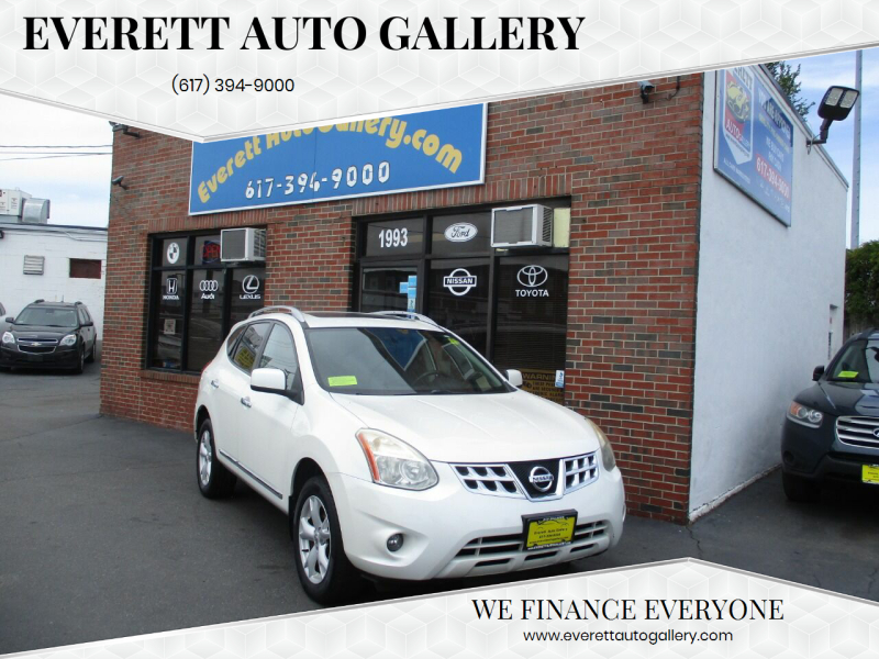 2011 Nissan Rogue for sale at Everett Auto Gallery in Everett MA