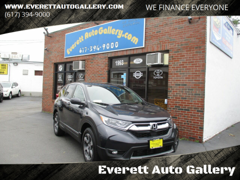 2017 Honda CR-V for sale at Everett Auto Gallery in Everett MA