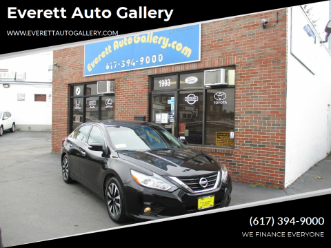 2018 Nissan Altima for sale at Everett Auto Gallery in Everett MA