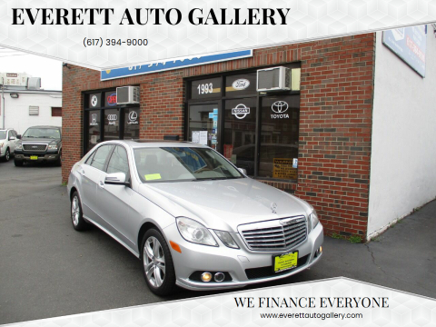 2011 Mercedes-Benz E-Class for sale at Everett Auto Gallery in Everett MA