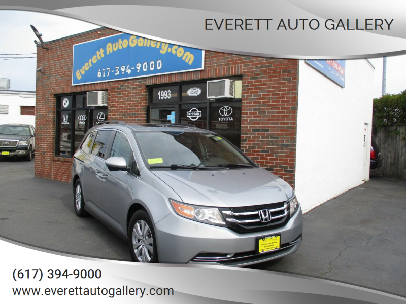 2016 Honda Odyssey for sale at Everett Auto Gallery in Everett MA