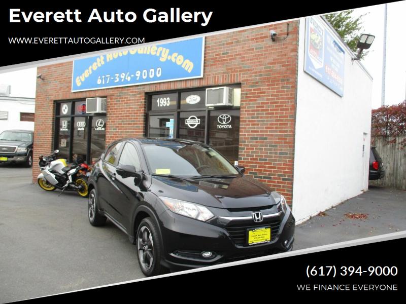 2018 Honda HR-V for sale at Everett Auto Gallery in Everett MA