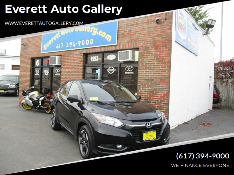 2018 Honda HR-V for sale at Everett Auto Gallery in Everett MA