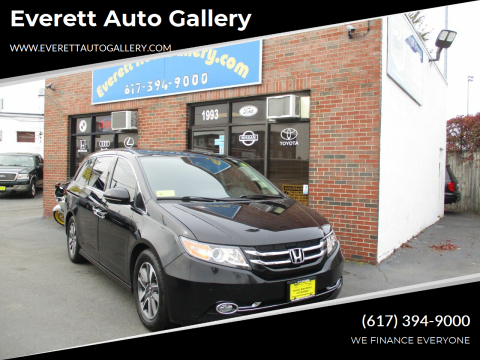 2015 Honda Odyssey for sale at Everett Auto Gallery in Everett MA