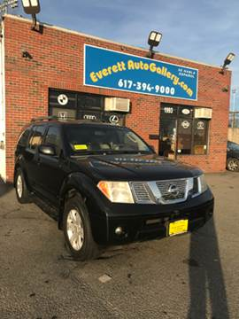 2005 Nissan Pathfinder for sale in Everett, MA