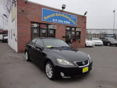2007 Lexus IS 250 for sale in Everett, MA