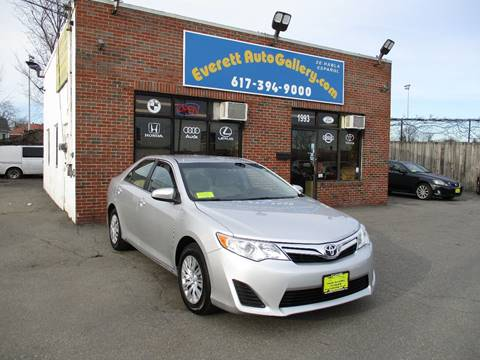 2012 Toyota Camry for sale in Everett, MA
