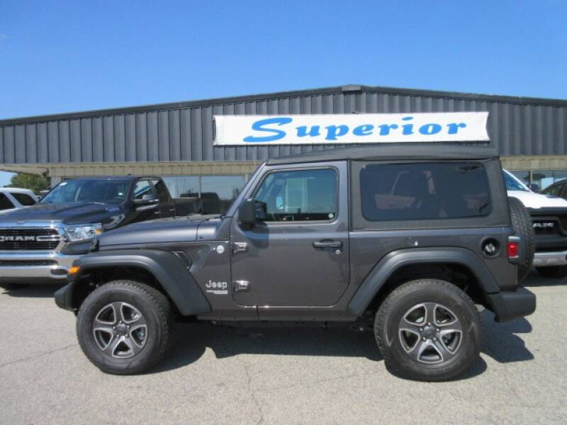2020 Jeep Wrangler for sale at SUPERIOR CHRYSLER DODGE JEEP RAM FIAT in Henderson NC