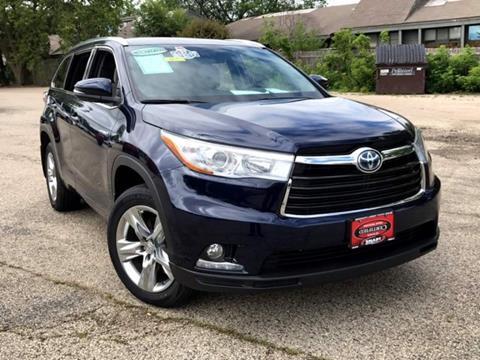 2015 Toyota Highlander Hybrid for sale at Smart Budget Cars ~ Madison in Madison WI