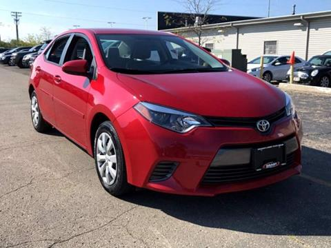 2015 Toyota Corolla for sale at Smart Budget Cars ~ Madison in Madison WI