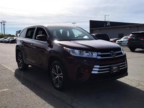 2017 Toyota Highlander for sale in Madison, WI