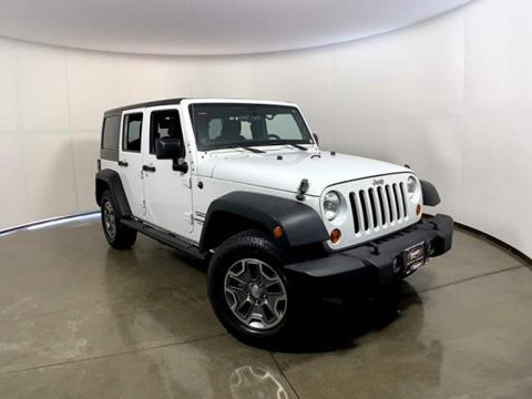 2013 Jeep Wrangler Unlimited for sale in Madison, WI