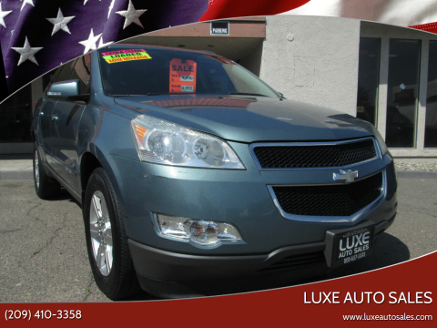 2009 Chevrolet Traverse LT for sale at Luxe Auto Sales in Modesto CA