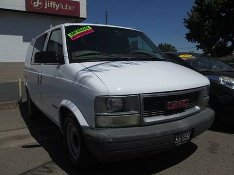 2000 GMC Safari Cargo for sale in Modesto, CA